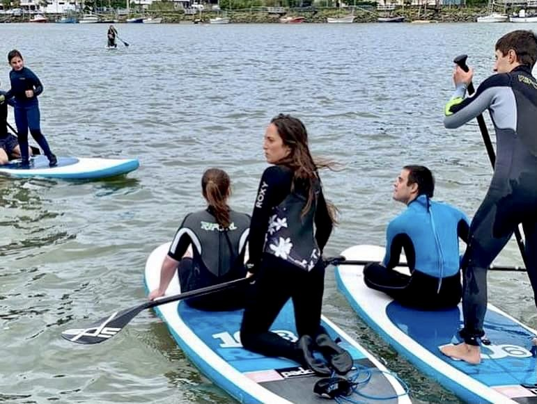 SUP INCLUSIVO EN HONDARRIBIA